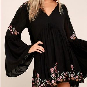 Free People Te Ami Flare Dress